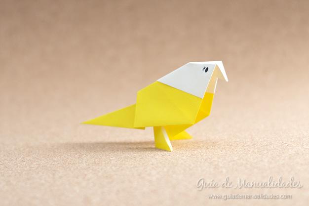 Pajarito origami 11