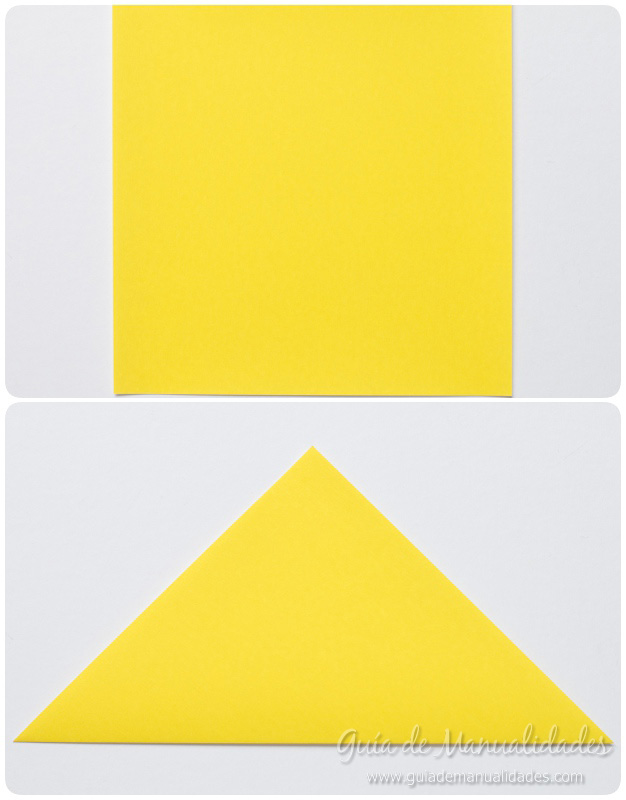 Pajarito origami 3