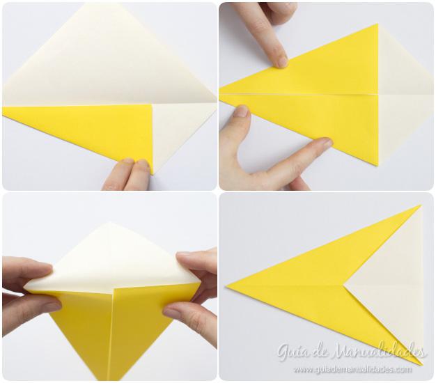 Pajarito origami 4