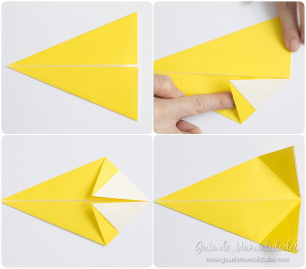 Pajarito origami 5