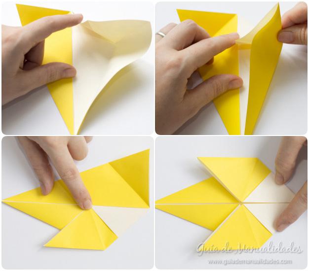 Pajarito origami 6