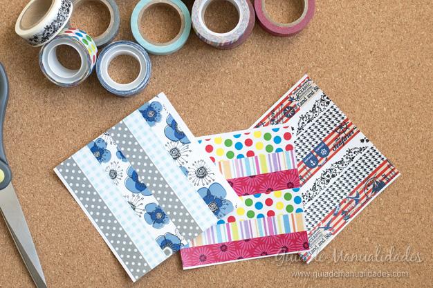 Papel con cintas adhesivas 5