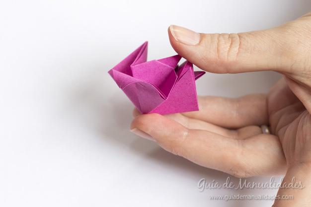 Rosas de origami 12