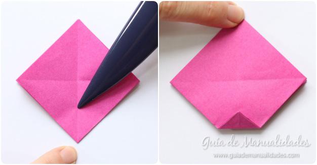 Rosas de origami 5