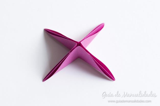 Rosas de origami 8