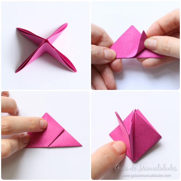 Rosas de origami 9