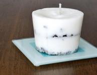 imagen Sencillas velas con café usado