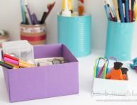 imagen Cajas organizadoras de origami súper fáciles