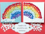 imagen Cuadro de arcoíris con botones