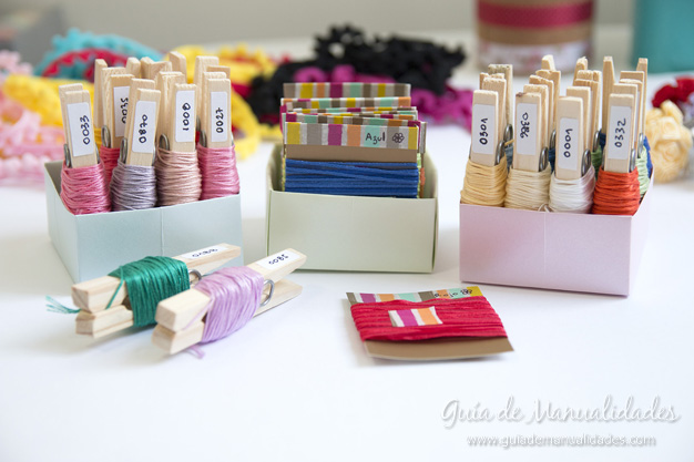 Ideas DIY organizacion materiales 1