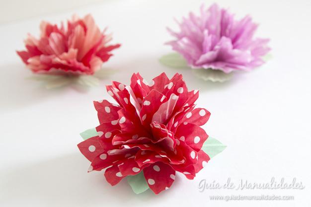 Flores de papel 10