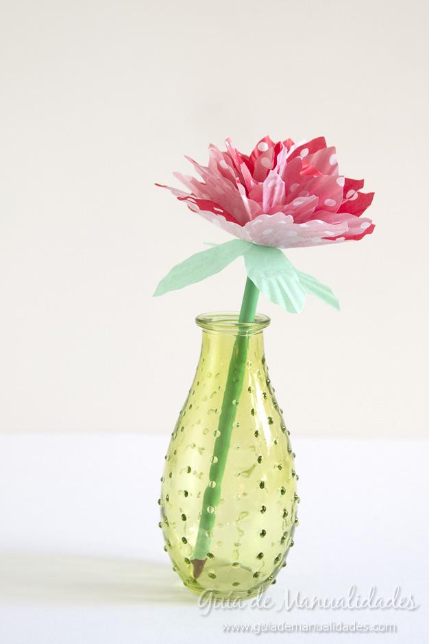 Flores de papel 12