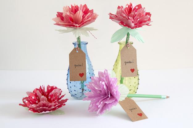 Flores de papel 15