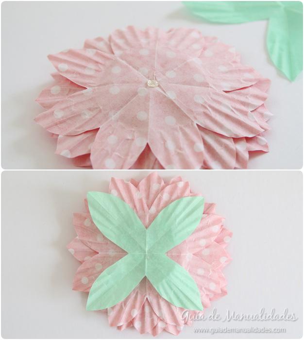 Flores de papel 8