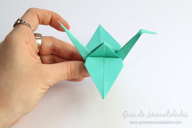 Grullas de origami 10