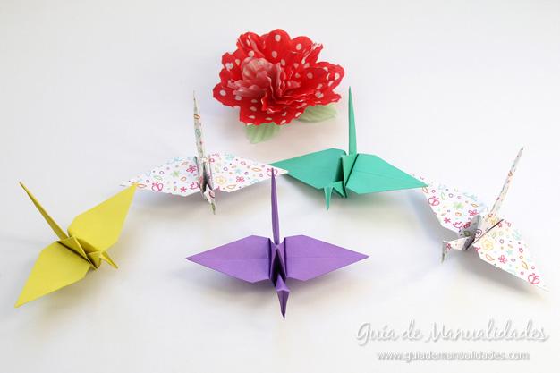 Grullas de origami 11