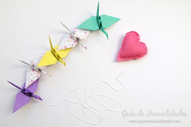 Grullas de origami 12