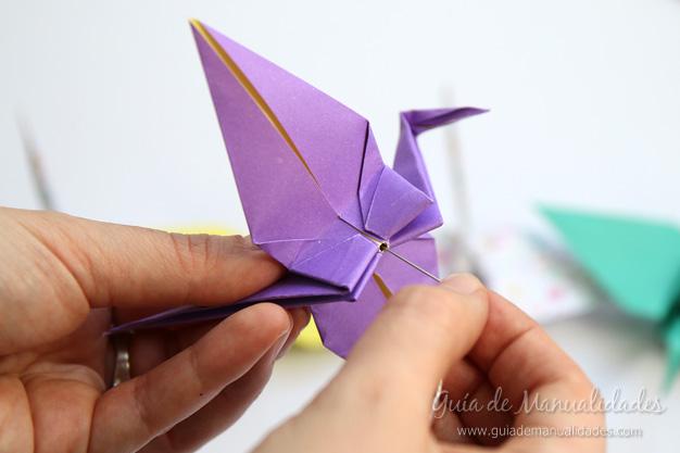 Grullas de origami 14