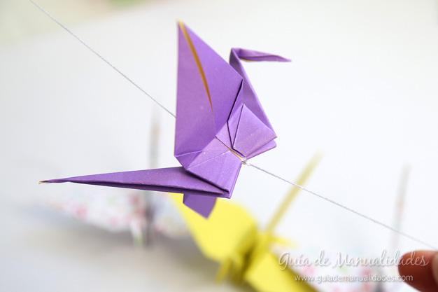 Grullas de origami 15