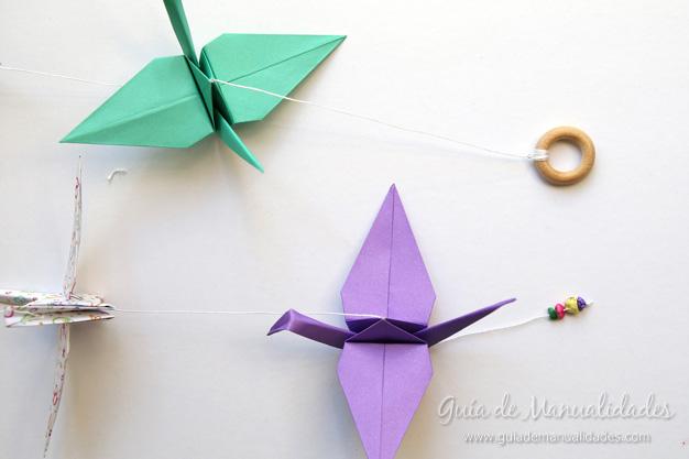 Grullas de origami 16