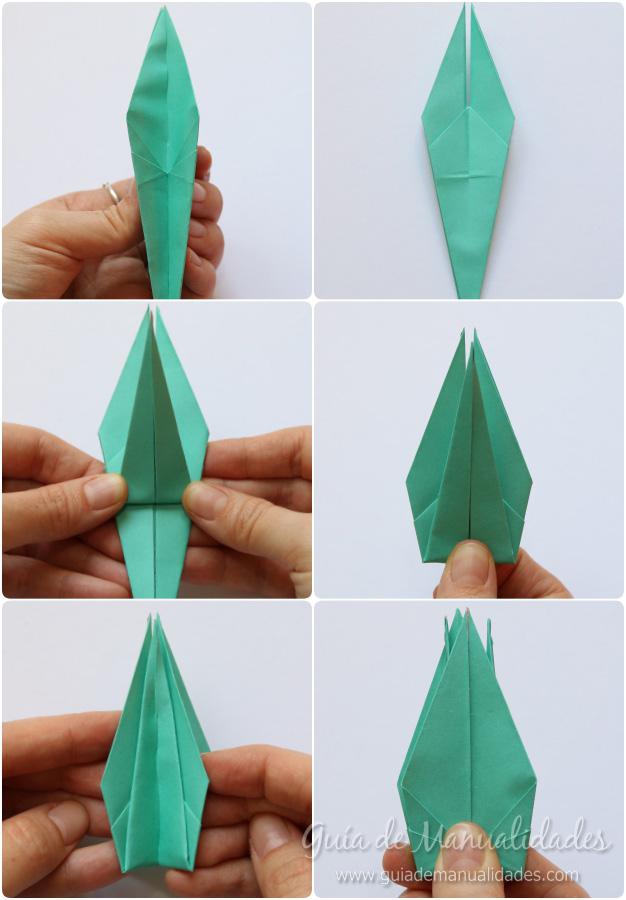 Grullas de origami 8