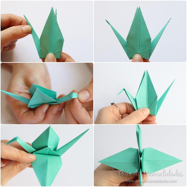 Grullas de origami 9