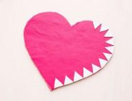 imagen Haz un mouse pad con forma de corazón
