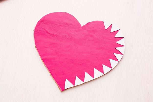 Mouse pad corazón 1