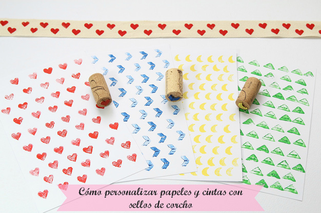 Papeles y cintas personalizados 1
