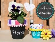 imagen Jardineras divertidas para tu hogar