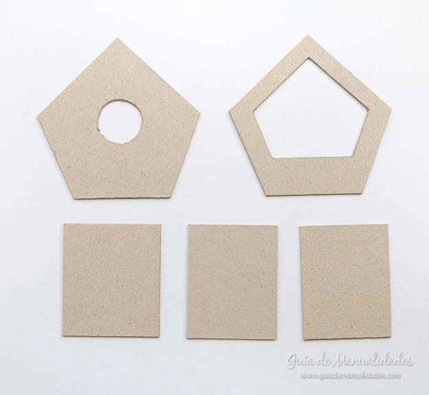 Casa pájaros cartón 3