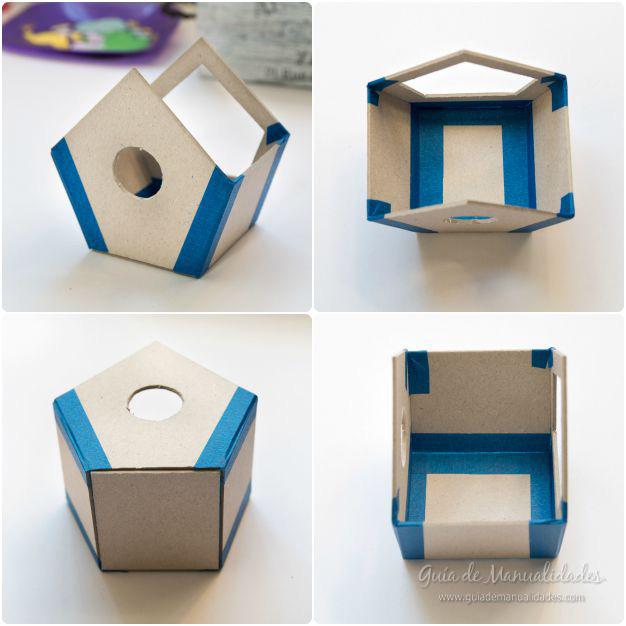 Casa pájaros cartón 5