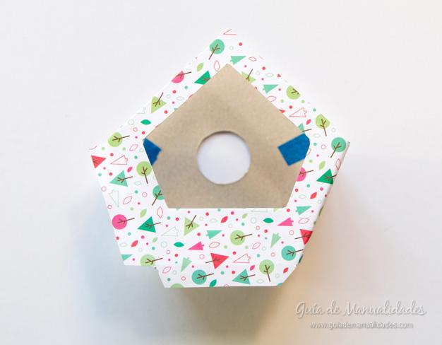 Casa pájaros cartón 7