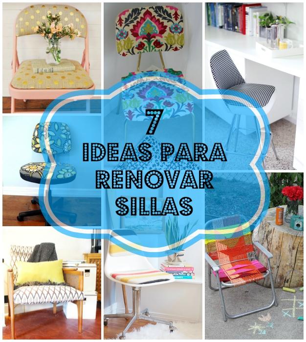 Ideas para reciclar sillas 0