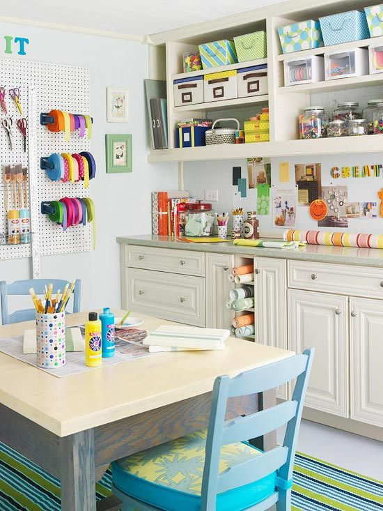 C mo armar tu propio rinc n o habitaci n para manualidades gu a de manualidades - Craft room ideas for small spaces concept ...
