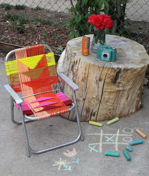 Ideas para reciclar sillas 1