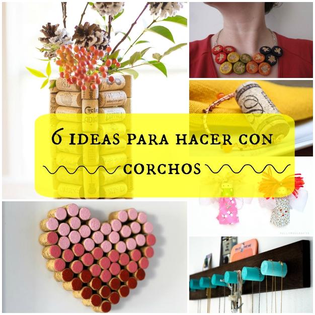 Ideas con corchos 0