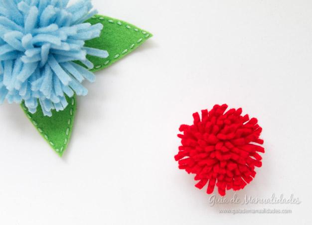 Flores de fieltro 5