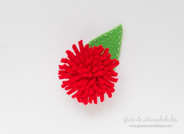 Flores de fieltro 7