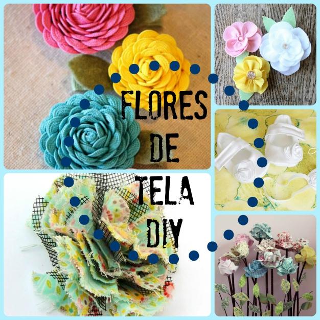 Flores de tela 0