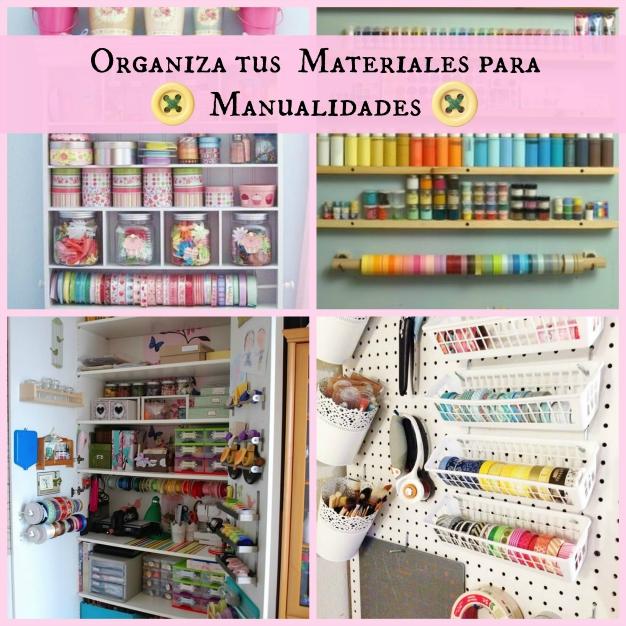 Ten en orden tus materiales para manualidades gu a de for Mueble organizador de costura