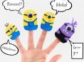 imagen Cómo hacer títeres de dedos de los Minions