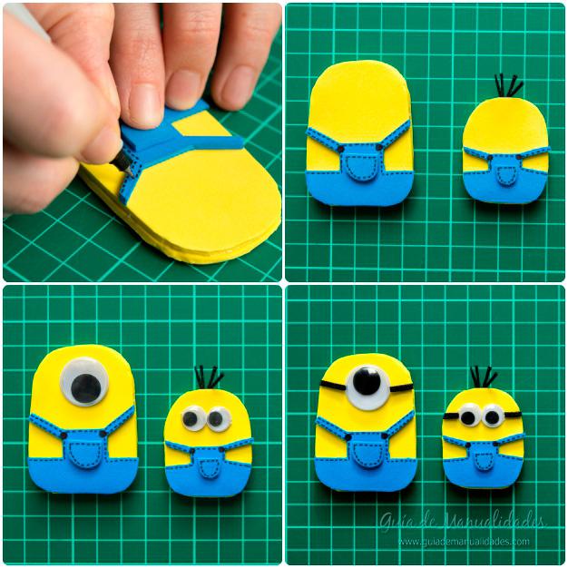 Títeres dedos Minions 7
