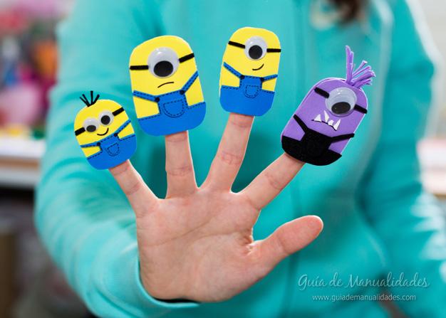 Títeres dedos Minions 9