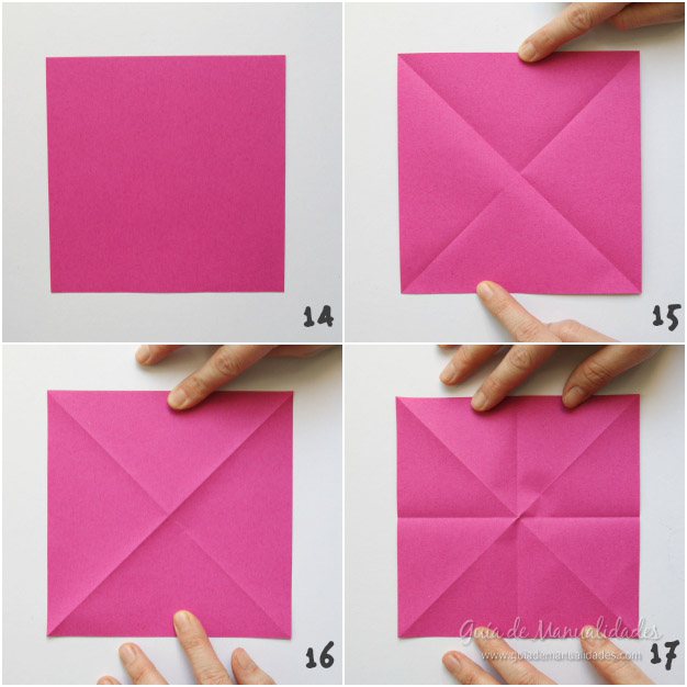 Tulipanes de origami 5