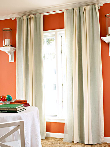 4 formas de personalizar tus cortinas gu a de manualidades - Formas de cortinas ...
