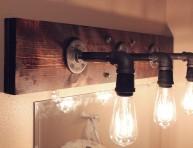 imagen Aplique DIY de estilo industrial para el baño