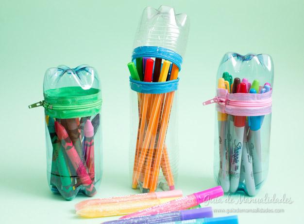 Estuches con botellas plásticas Artículo Publicado el 21.09.2015 por