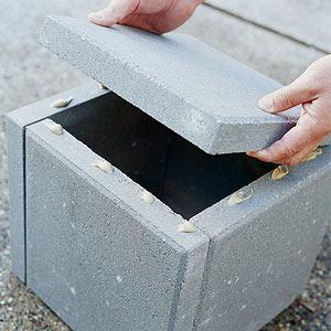 C mo hacer jardineras con losetas de cemento gu a de - Jardineras de cemento ...