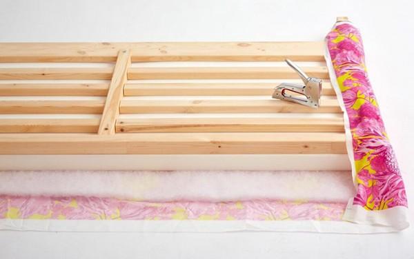 C mo tapizar el cabecero de tu cama gu a de manualidades - Como fabricar un cabecero de cama ...